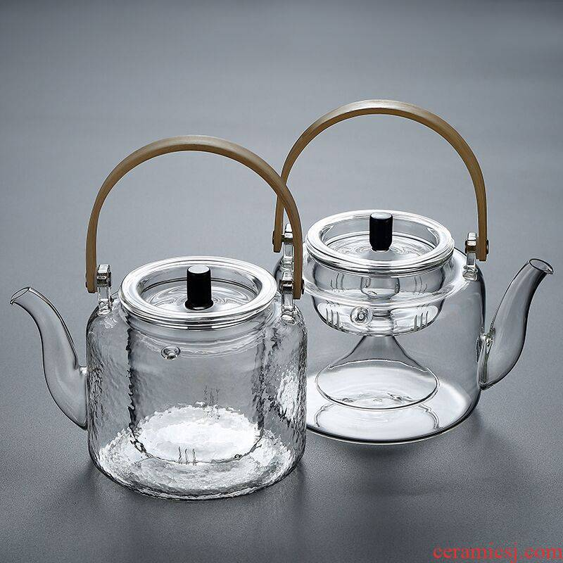 Thickening cooking pot teapot tea is tea set girder are high temperature resistant glass teapot electric TaoLu kettle household