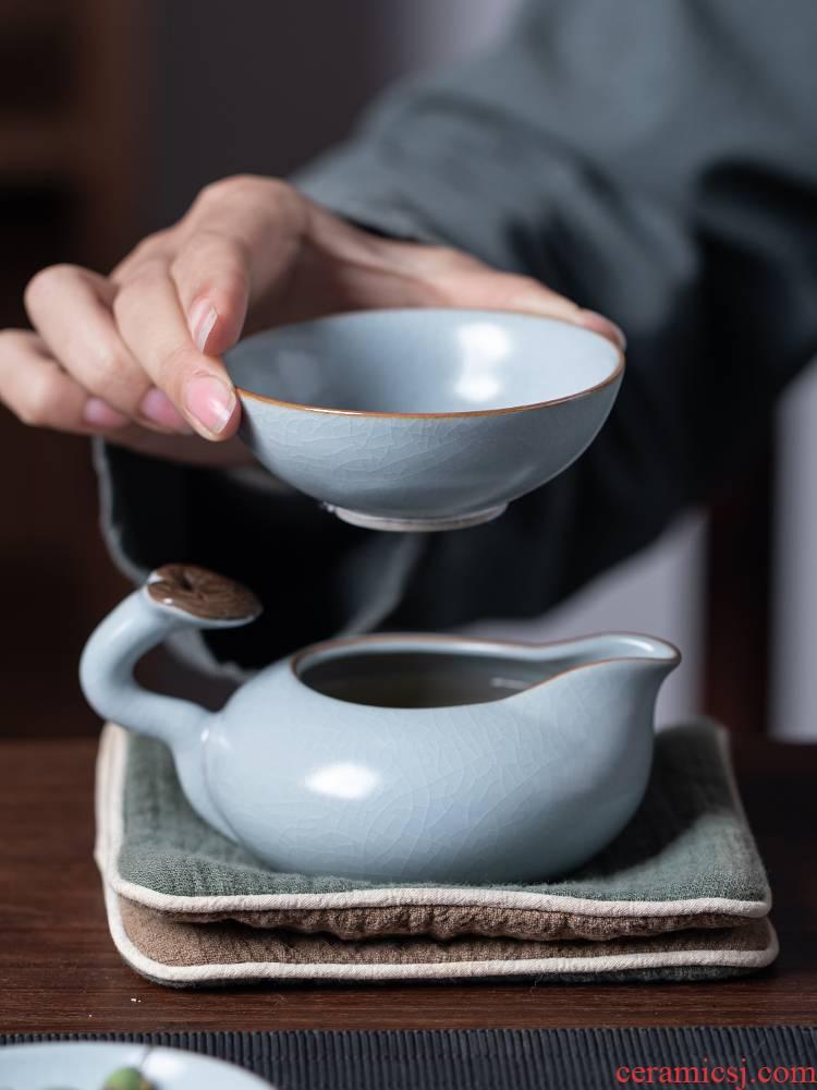 Your up) tea tea tea filter filter ceramic tea every other kung fu tea set tea service parts water separator