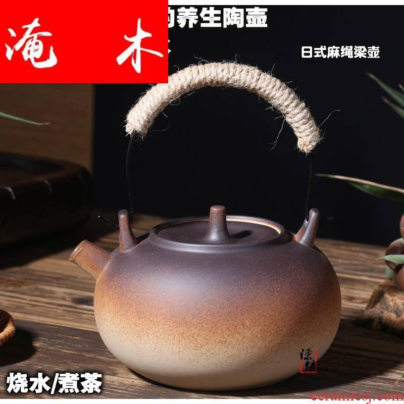 Submerged wood stove to boil tea is tea stove'm burning charcoal stove ceramic POTS cooking pot boiled water curing pot of girder ceramic teapot kung fu