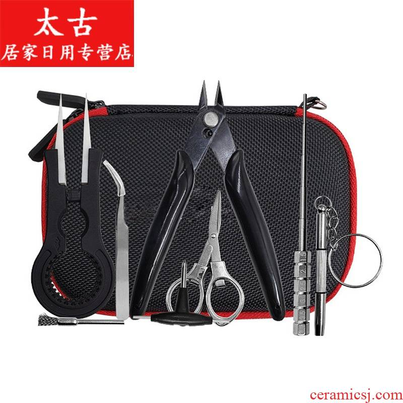 DIY chemical sprayer to do the core wire rod wire kit ceramic pliers drops of oil atomizer cigarette holder, DIY kit