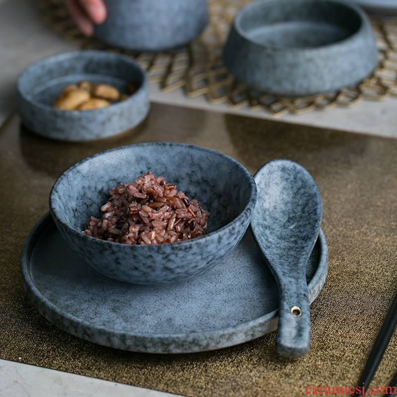 Qiao mu DY western - style porcelain tableware steak creative rainbow such as bowl flavour dish of sauce dish dish bowl plates spoons home use of water
