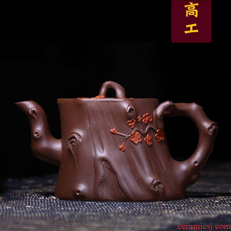 Qiao mu YM yixing ores are it by the pure manual teapot tea purple clay may from running