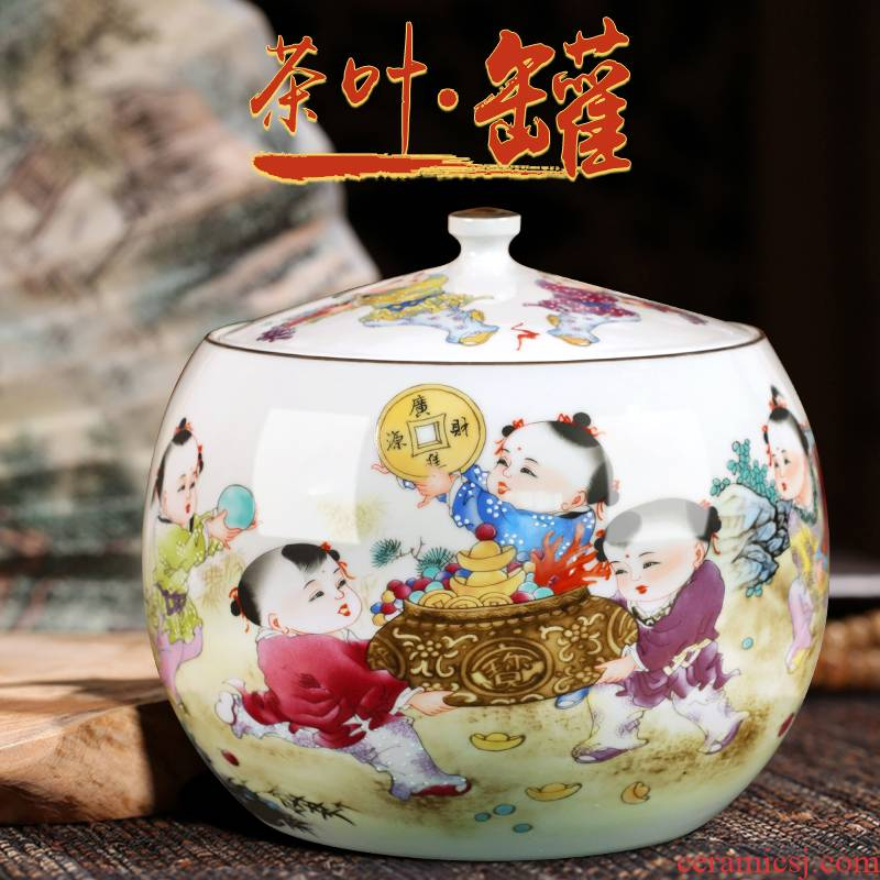 Jingdezhen ceramics rich place to live in the sitting room porch place up chunks decorations study calligraphy and painting storage
