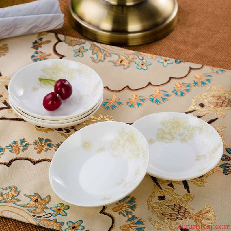 """5 with 3 points 5 small ceramic ipads China porcelain dish of soy sauce Chinese style household suit bag in inches """"special offer"""""""
