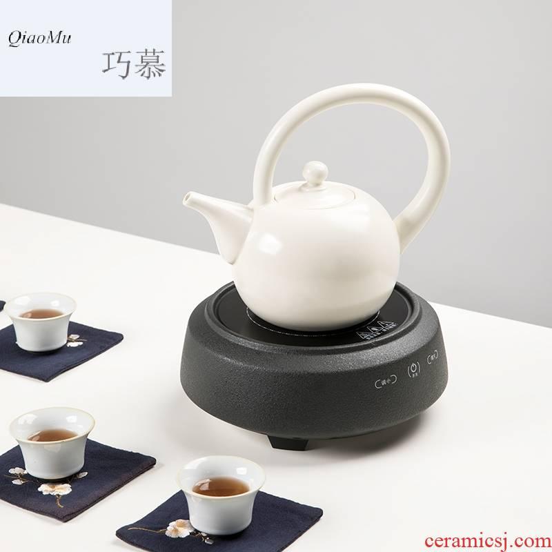Qiao mu CMJ electric TaoLu boiled tea health ceramic teapot tea stove cooked black tea kettle household small soda