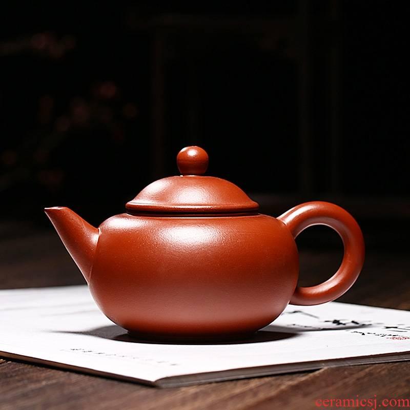 Qiao mu YM yixing ores are it by the manual teapot household utensils zhu mud level