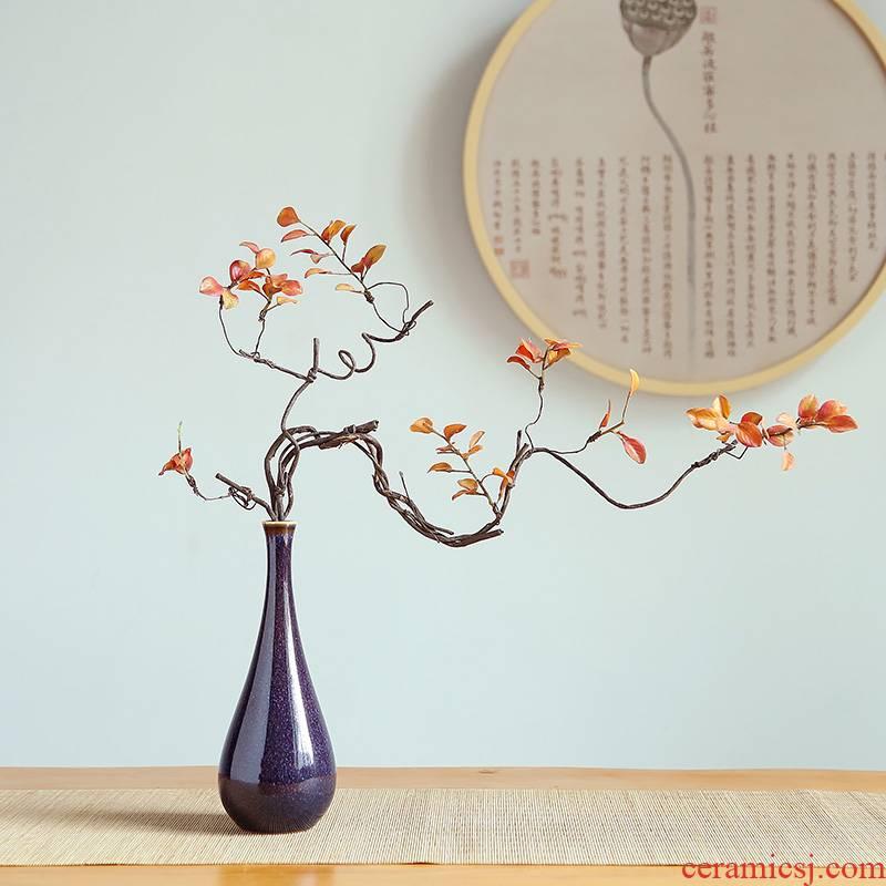 Jingdezhen modern creative ceramics vase home sitting room adornment ornament study manual handicraft furnishing articles