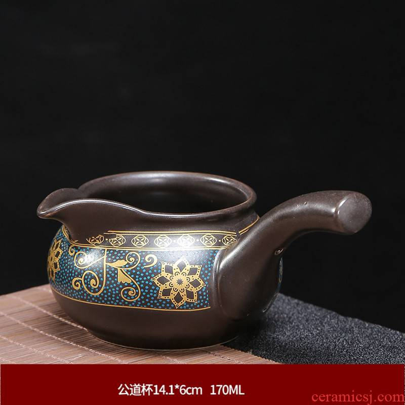 Ceramic tea sets) fair keller tea ware integration points purple sand tea cups, fair fair cup cup