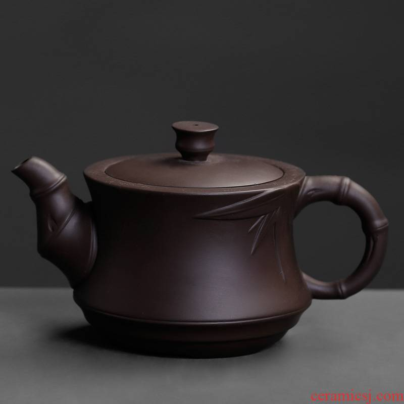 Ceramic tea - pot teapot Ceramic little teapot manual kung fu tea mercifully tea from the small single single pot